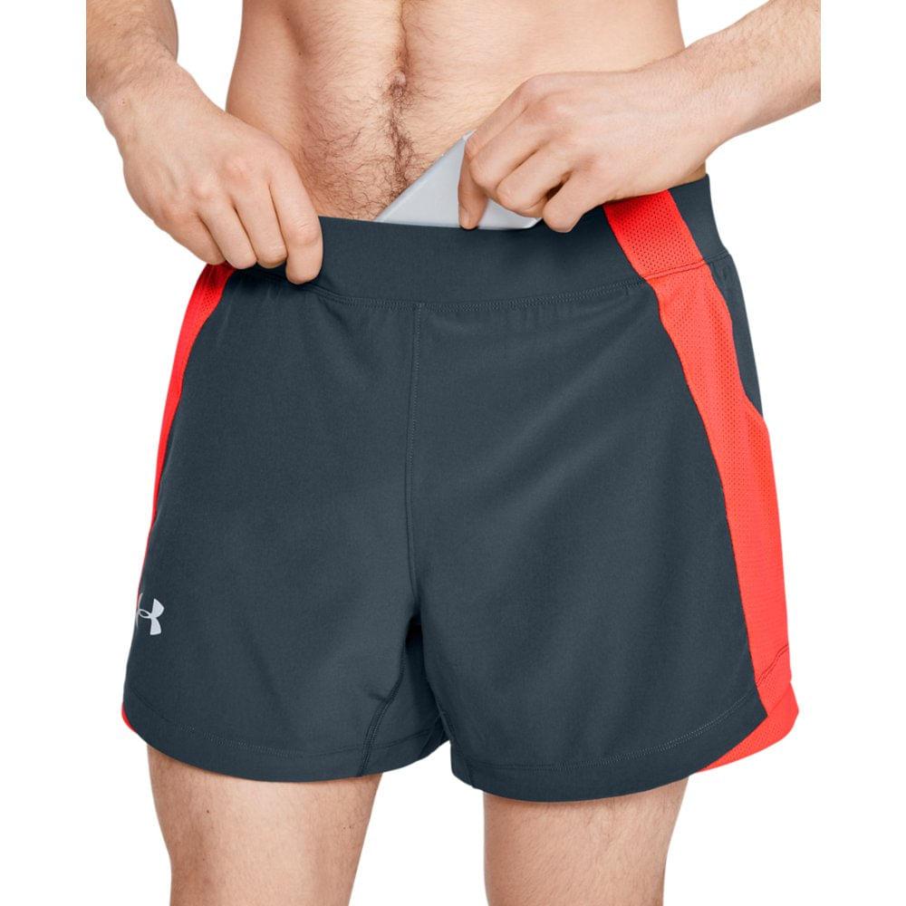 Shorts de Corrida Masculino Under Armour QUnder Armourlifier Armourlifier Speedpocket 5