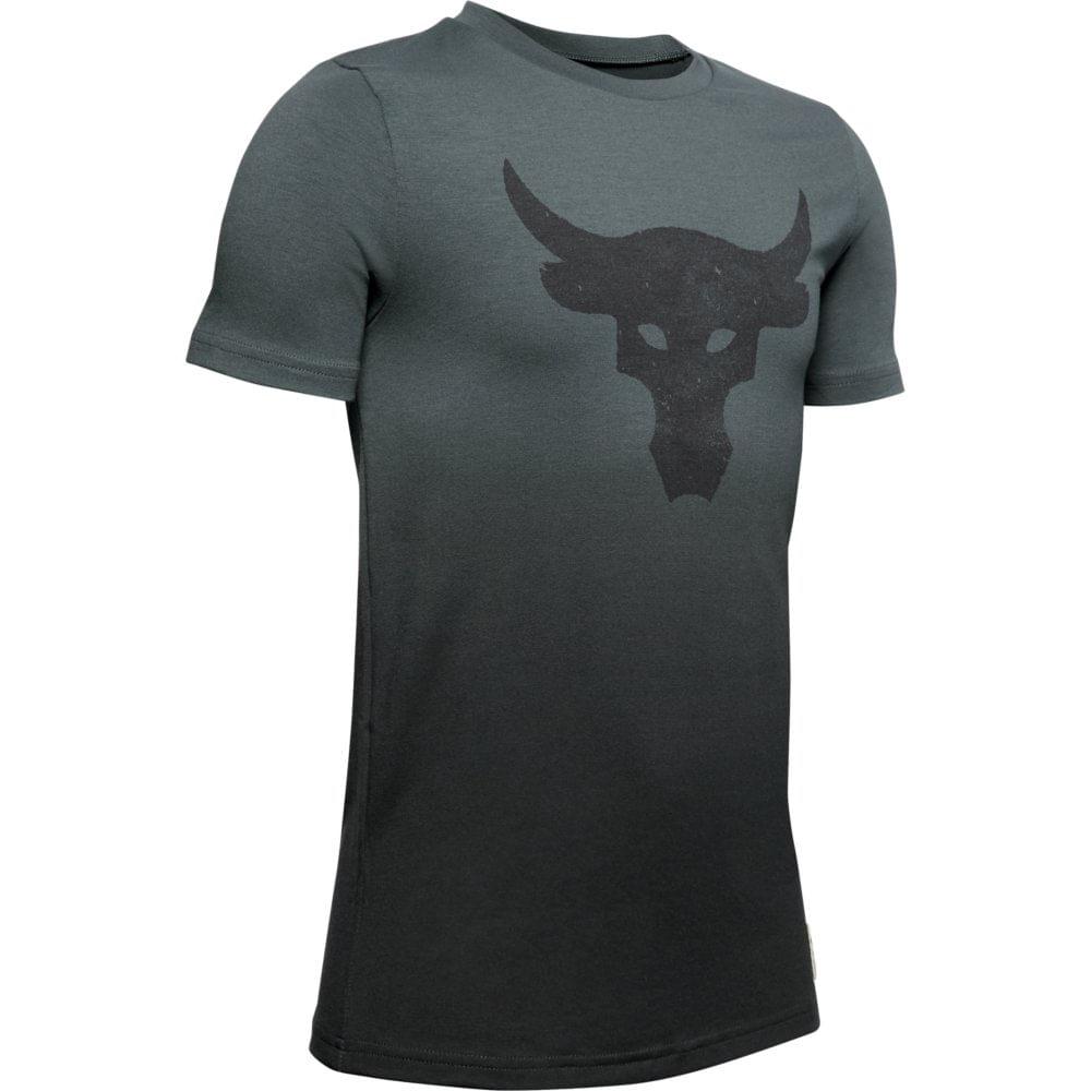 africano teléfono Hecho de  Camiseta de Treino Infantil Masculina Under Armour Project Rock Bull  Graphic - underarmourbr